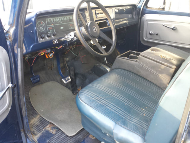 chevrolet c k pickup 3500 14 foot flat bed pick up 1965 blue for sale c3835n120784 1965 chvey c. Black Bedroom Furniture Sets. Home Design Ideas