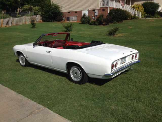 Chevrolet Corvair Convertible 1965 White For Sale