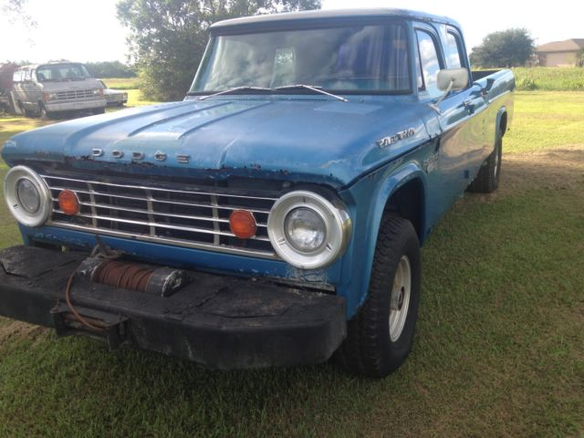 Dodge Power Wagon Crew Cab Pickup 1965 Blue For Sale 1965 Dodge