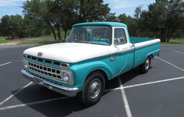 Ford F   Caribbean Turquoise Wimbledon White For Sale Fdr  Ford F  Original Miles Collector Owned Nicest On Ebay