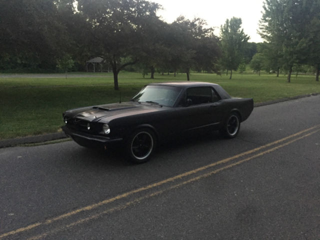 ford mustang coupe 1965 black for sale xfgiven vin. Black Bedroom Furniture Sets. Home Design Ideas