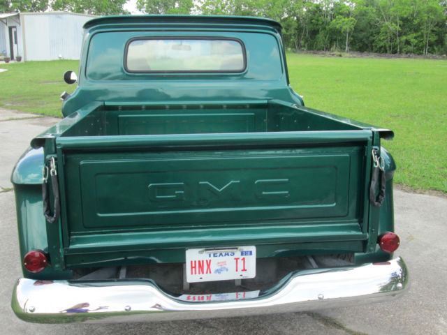 gmc other standard cab pickup 1965 forest green metalic. Black Bedroom Furniture Sets. Home Design Ideas