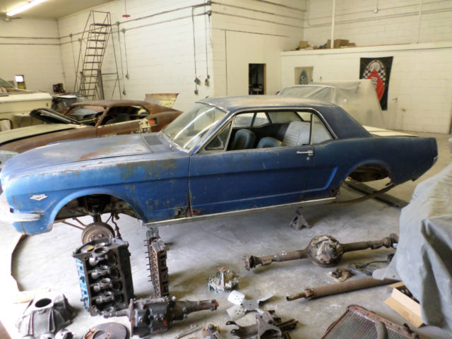 Ford Mustang Coupe 1965 For Sale  5F07K160515 1965 K CODE