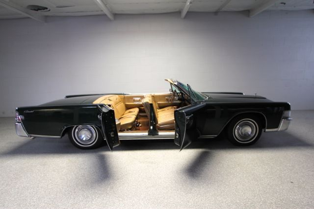 Lincoln Continental Convertible 1965 Sage Green For 1 Owner 55k Miles Rust Free California Car