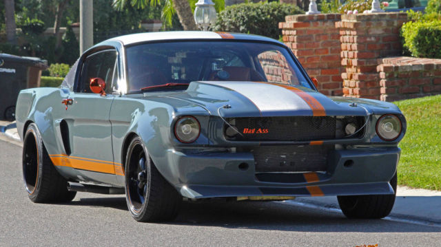 Ford Mustang Fastback 1965 Gray For Sale 5t09c 1965