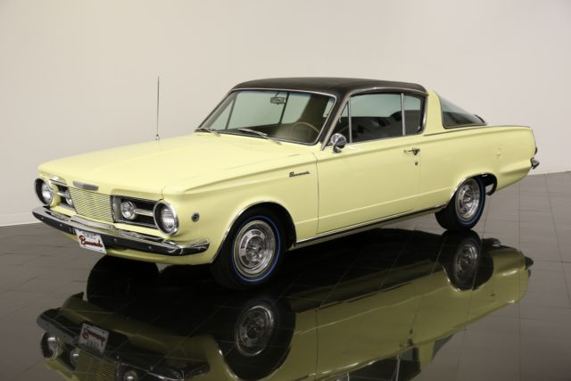 Plymouth Barracuda Hardtop 1965 Yellow For Sale ...