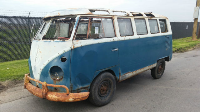 Volkswagen Bus/Vanagon 1965 Blue / White For Sale ...