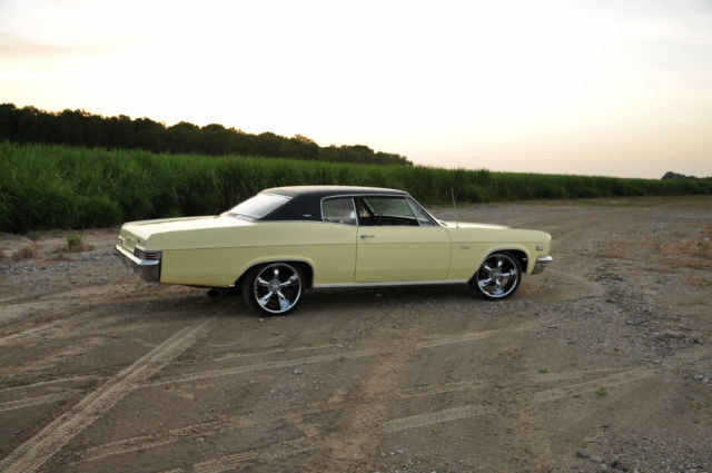 Chevrolet Caprice Coupe 1966 Yellow For Sale 166476J112656 1966