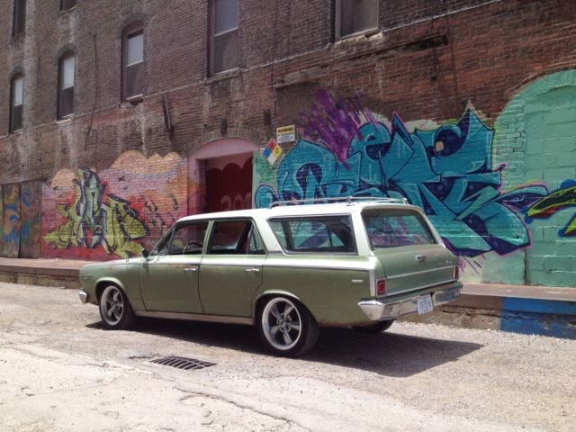 Amc Rambler Wagon 1966 Green For Sale A6k085b101683 1966