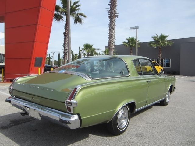 Plymouth Barracuda Coupe 1966 Green For Sale  BP29B62545597 1966