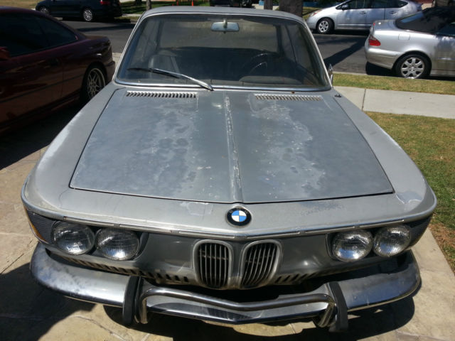 bmw 2 series coupe 1966 silver for sale 1101447 1966 bmw 2000cs. Black Bedroom Furniture Sets. Home Design Ideas