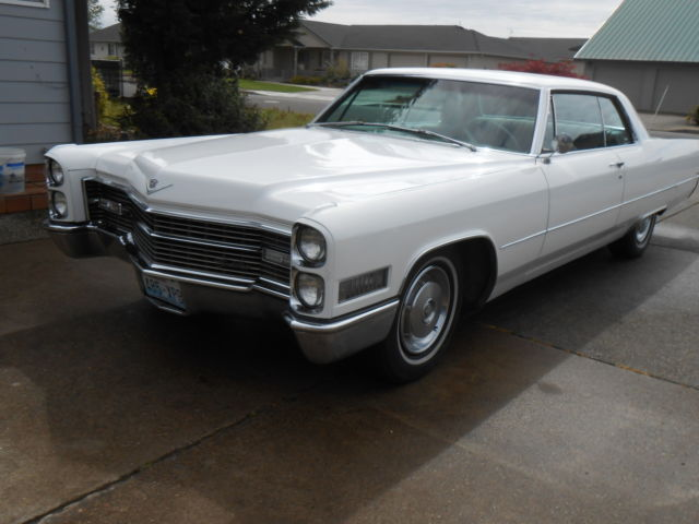 Cadillac Other Coupe 1966 White For Sale 66276905 1966 border=