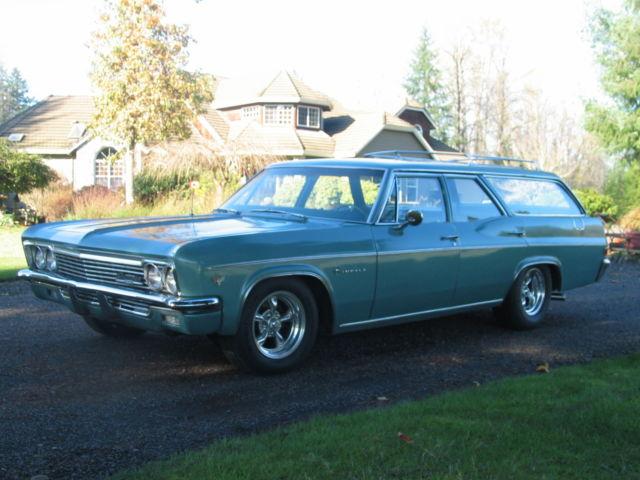 Chevrolet Impala Wagon 1966 Green For Sale 164456l155983