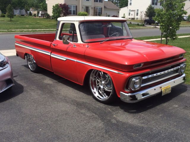 chevrolet c 10 1966 for sale 1966 chevy c10 custom show truck turbo ls motor. Black Bedroom Furniture Sets. Home Design Ideas