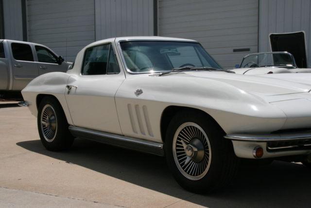 Chevrolet Corvette COUPE 1966 ERMINE WHITE For Sale
