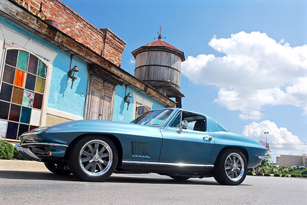 Chevrolet Corvette Coupe 1966 Blue For Sale  194376S114512