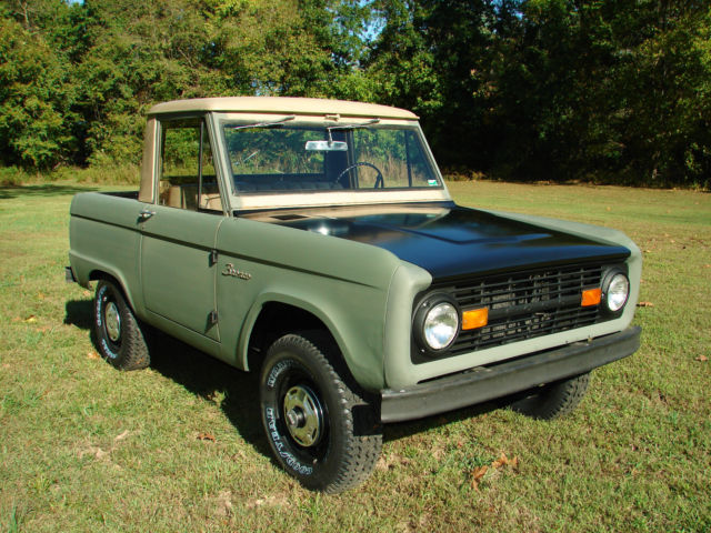 ford bronco 1966 for sale u14fl794517 1966 ford bronco not a barn find rust free survivor half. Black Bedroom Furniture Sets. Home Design Ideas