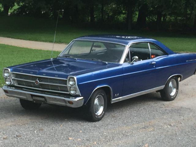 For Sale 1966 Ford Fairlane 2 Door Hard Top
