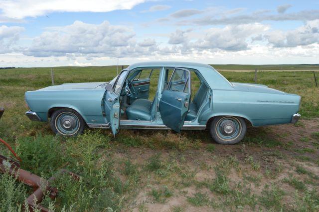 For Sale 1966 Ford Fairlane 4 Door Sedan