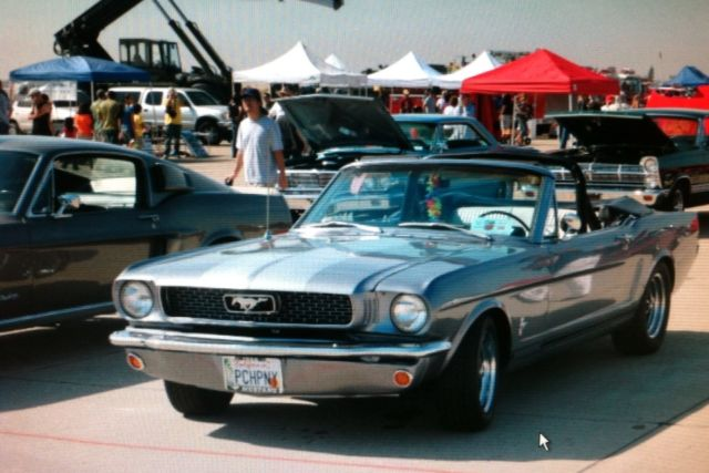 Ford Mustang Convertible 1966 Glacier Blue For Sale