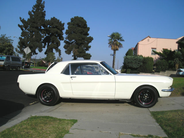 Swell Ford Mustang Coupe 1966 Wimbleton White For Sale 6F07C285507 1966 Wiring Digital Resources Funapmognl