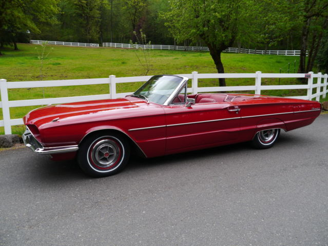 ford other convertible 1966 red for sale xfgiven vin. Black Bedroom Furniture Sets. Home Design Ideas