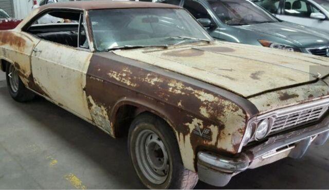 Chevrolet Impala Coupe 1966 Yellow For Sale 168376S103XXX 1966