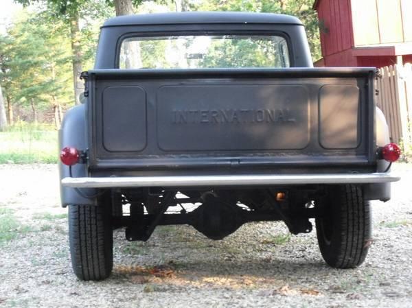International Harvester Other pickup/step side 1966 black