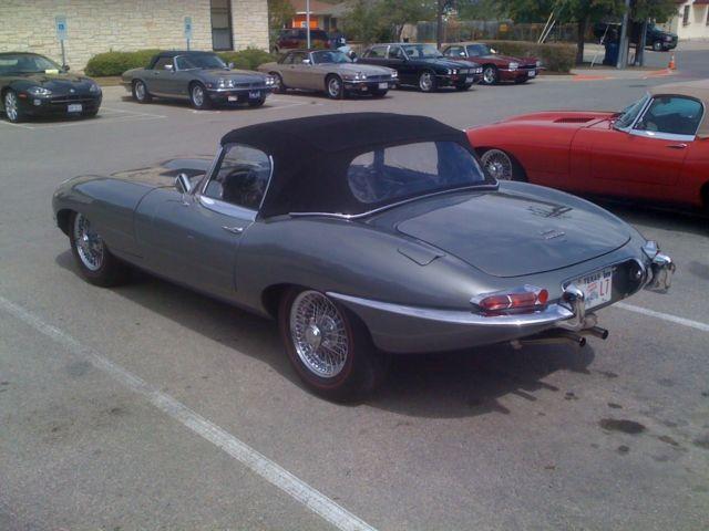Jaguar E Type Convertible 1966 Opalescent Silver Grey For Sale 1e12288 1966 Jaguar E Type Xke