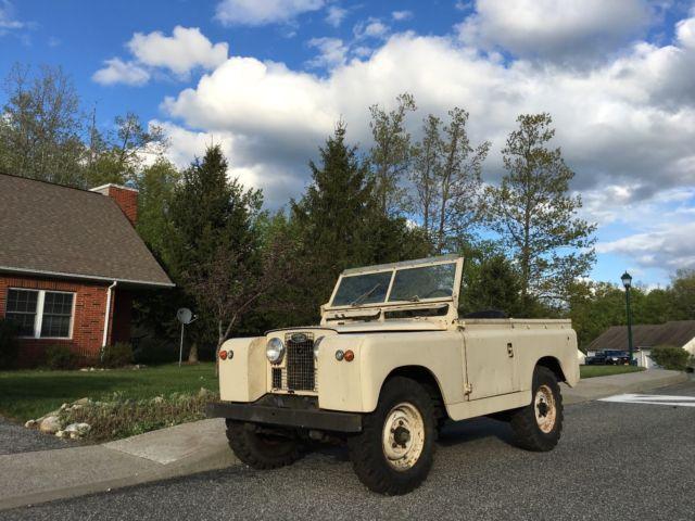 land rover defender 88 1966 limestone for sale. 2422535b 1966 land