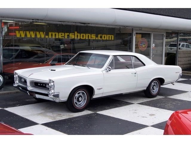 Pontiac Gto Coupe 1966 White For Sale 242176p295859 1966
