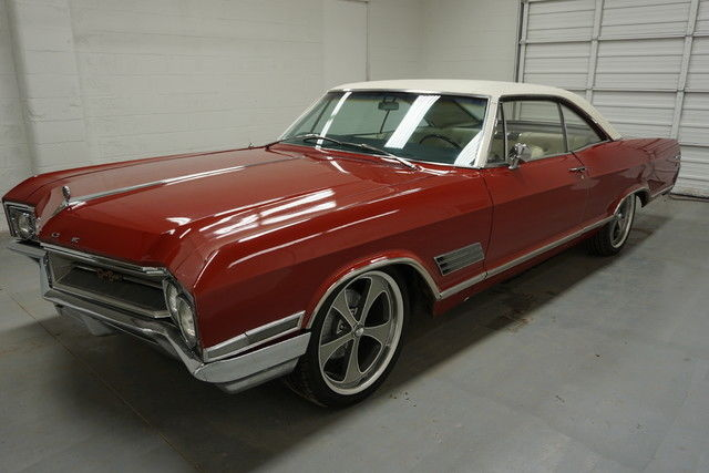 Buick Wildcat Gs Sedan 1966 Red For Sale 166376h917068