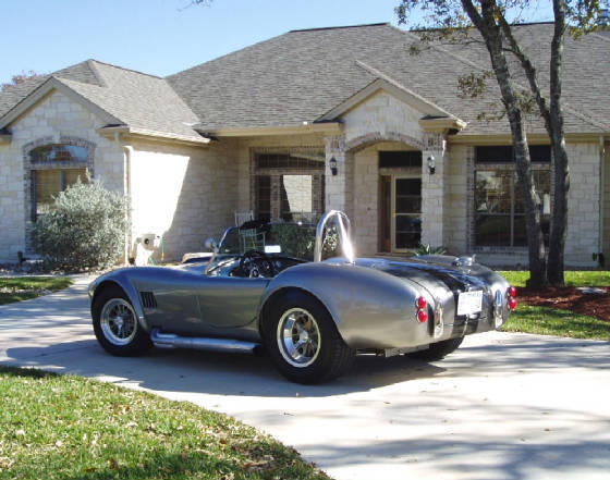 Ford AC Cobra Convertable 1966 Silver For Sale  HKC0106026 1966
