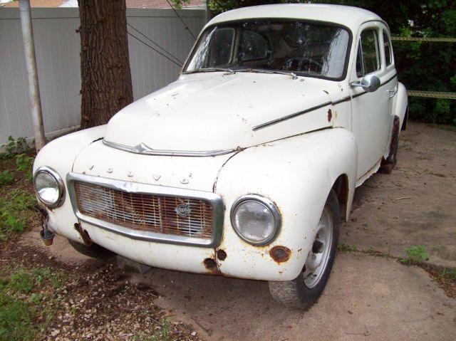 Volvo Other 2 DOOR 1966 WHITE For Sale. 1966 VOLVO PV544 SPORT * COMES WITH 1959 PARTS CAR ...