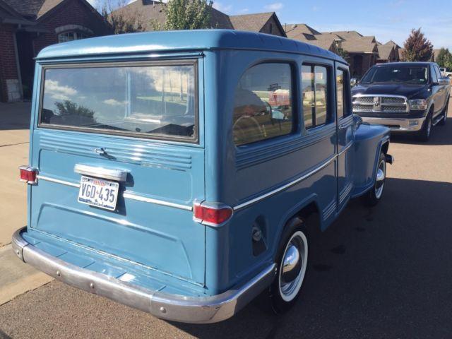 Willys Station Wagon Wagon 1966 Blue For Sale. 6822202201 1966 Willys Station Wagon 4x4