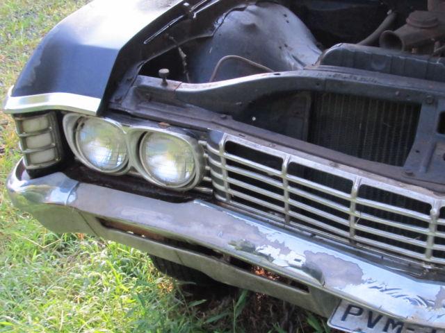 Sweet 1967 Chevrolet Impala 4 Door Black Interior
