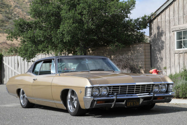 Chevrolet Caprice Hardtop 1967 Gold For Sale ...
