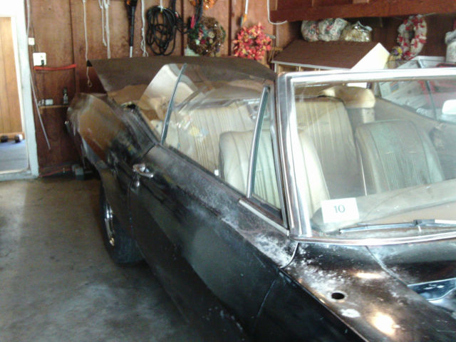 Chevrolet Impala Convertible 1967 Black For Sale  1686772104038 1967