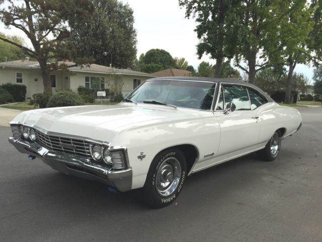 chevrolet impala coupe 1967 white for sale 16887rxxxxxx 1967 chevy impala ss fastback. Black Bedroom Furniture Sets. Home Design Ideas
