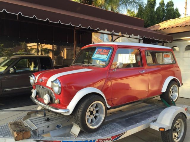 Mini Classic Mini Wagon 1967 Red For Sale 2532 1967 Classic Mini
