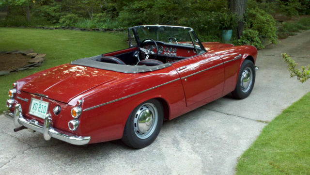 Datsun Other 1967 Red For Sale  SPL31105116 1967 Datsun 1600 Roadster