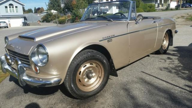 Datsun Other Convertible 1967 GOLD For Sale  SPL3115032 1967 Datsun
