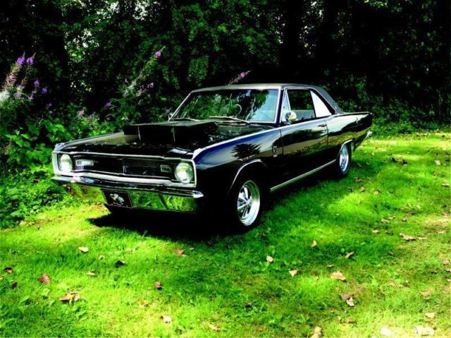 Dodge Dart Hardtop 1967 Black For Lp23b72125144 Gt 2 Door 440 Ci