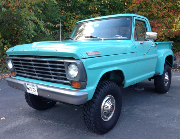 Ford F-100 Stepside Pickup 1967 Blue For Sale. F11YRA99540 ...  Ford F-100 Step...