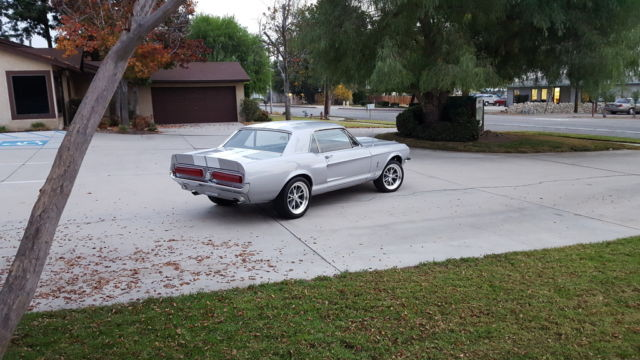 Ford Mustang U/K 1967 Silver For Sale  7R01C180307 1967 ford