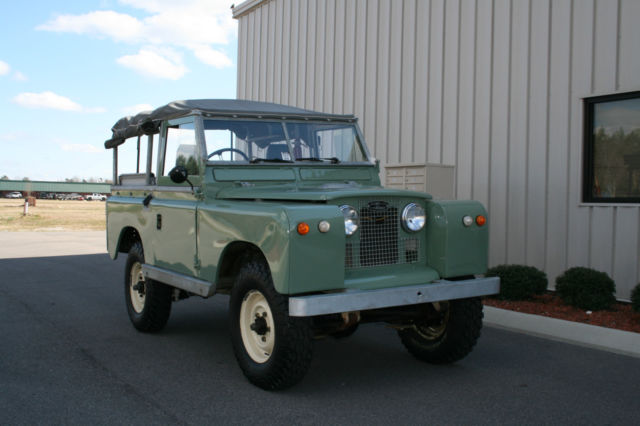 land rover other convertible 1967 green for sale 386316365 1967 land rover series iia 88 frame. Black Bedroom Furniture Sets. Home Design Ideas