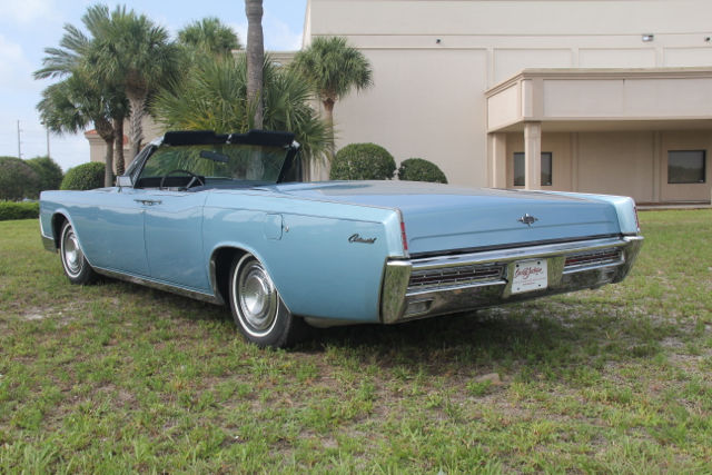 lincoln continental convertible 1967 blue for sale 7y86g833691 1967 lincoln continental 4 door. Black Bedroom Furniture Sets. Home Design Ideas