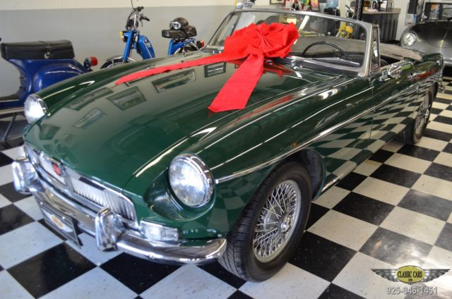 MG MGB Convertible 1967 Black Leather For Sale  GHN3L99231