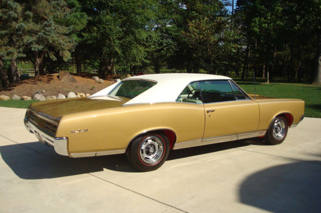 Pontiac Gto Hardtop 1967 Signet Gold For Sale 1967