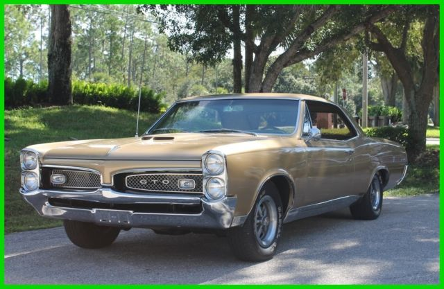 pontiac gto coupe 1967 gold for sale 242177p309876 1967 used pontiac gto 4 speed 400ci muscle. Black Bedroom Furniture Sets. Home Design Ideas